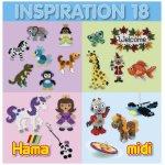 Carte cu modele colorate Hama Midi inspiratii 18