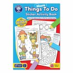 Carte de colorat cu activitati in limba engleza si abtibilduri Mai multe lucruri de facut