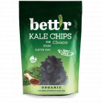 Chips din kale cu ciocolata raw eco 30g Bettr