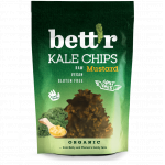Chips din kale cu mustar raw eco 30g Bettr