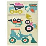 Covor copii & tineret Angela multicolor 67x120