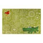 Covor copii & tineret Crocodile verde 200x290
