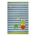Covor copii & tineret Fortis Frog albastru 133x200