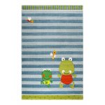 Covor copii & tineret Fortis Frog albastru 80x150