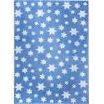 Covor copii & tineret Jeans Star albastru 133x200