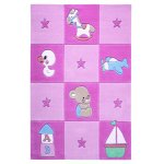 Covor copii & tineret Newborn aqcril roz 110x170