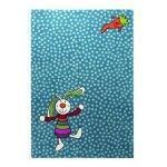 Covor copii & tineret Rainbow Rabbit albastru 133x200