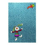 Covor copii & tineret Rainbow Rabbit albastru 160x225