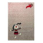 Covor copii & tineret Rainbow Rabbit gri 200x290