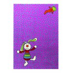 Covor copii & tineret Rainbow Rabbit mov 200x290