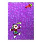 Covor copii & tineret Rainbow Rabbit mov 80x150