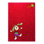 Covor copii & tineret Rainbow Rabbit rosu 120x170
