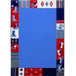 Covor copii & tineret Roundly hands & Feet albastru 133x200