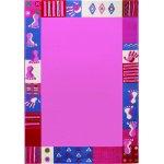 Covor copii & Tineret Roundly hands & Feet roz 80x150