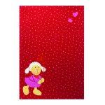 Covor copii & tineret Schnuggi rosu 120x170
