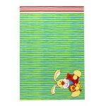 Covor copii & tineret Semmel Bunny verde 80x150