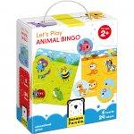 Hai sa ne jucam Animal Bingo 24 piese Banana Panda BP33677