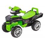 Jucarie ride-on cu sunete si lumini Toyz MiniI Raptor 2 in 1 verde/negru