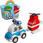 Lego Duplo Elicopter de pompieri si masina de politie