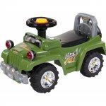 Masinuta de impins Sun Baby Jeep cu lumini verde