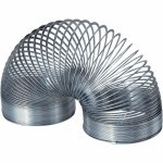 Mini arc din metal Slinky 3cm Keycraft