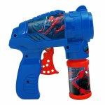Pistol pentru baloane de sapun Spider-man