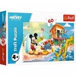 Puzzle Trefl Distractie la plaja cu Mickey Mouse 60 piese