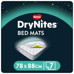 Protectie pentru pat DryNites Bed Mats, 7 buc, Huggies