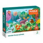 Puzzle Minunatele animalute din padure 60 piese