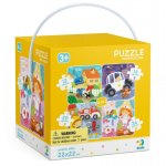Puzzle 4 in 1 Meserii 12, 16, 20, 24 piese