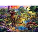 Puzzle Anatolian Landscape of Dinosaurs 500 piese