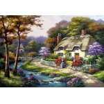 Puzzle Anatolian Spring Cottage 500 piese