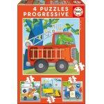 Puzzle Educa Rescue Patrol 6/9/12/16 piese