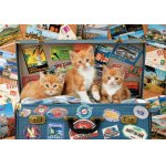 Puzzle Educa Travelling Kittens 200 piese