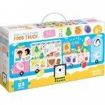 Puzzle Food Truck 23 piese 98x33cm Banana Panda BP49045
