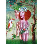 Puzzle Gold puzzle Adam and Eve 1.000 piese
