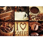 Puzzle Gold puzzle I Love Coffee 1.000 piese