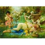 Puzzle Gold puzzle Joseph Bernard Venus and Cupid 2.000 piese