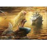 Puzzle Gold puzzle Mermaid 1.000 piese