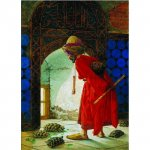 Puzzle Gold puzzle Osman Hamdi Bey The Turtle Trainer 1.000 piese