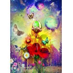 Puzzle Gold puzzle Party in the Woodland 1500 piese
