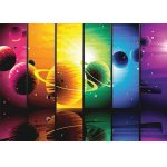 Puzzle Gold puzzle Planets Illustration 1500 piese