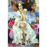 Puzzle Gold puzzle Roses 1500 piese