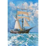Puzzle Gold puzzle Sailboat in the Ocean 500 piese