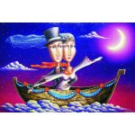 Puzzle Gold puzzle Wedding Travel 1.000 piese