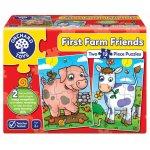 Puzzle Primii prieteni de la ferma