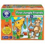 Puzzle Primii prieteni din jungla