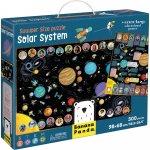 Puzzle sistem solar suuuper mare 300 piese 98x68 cm Banana Panda