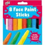 Set 8 culori pictura pe fata
