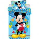 Set lenjerie pat copii Mickey Child 100x135 + 40x60 SunCity